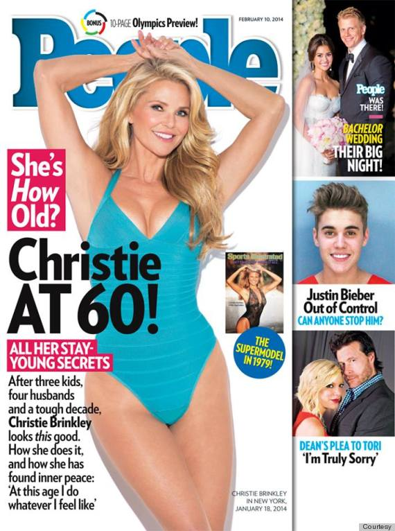 christie brinkley people cover