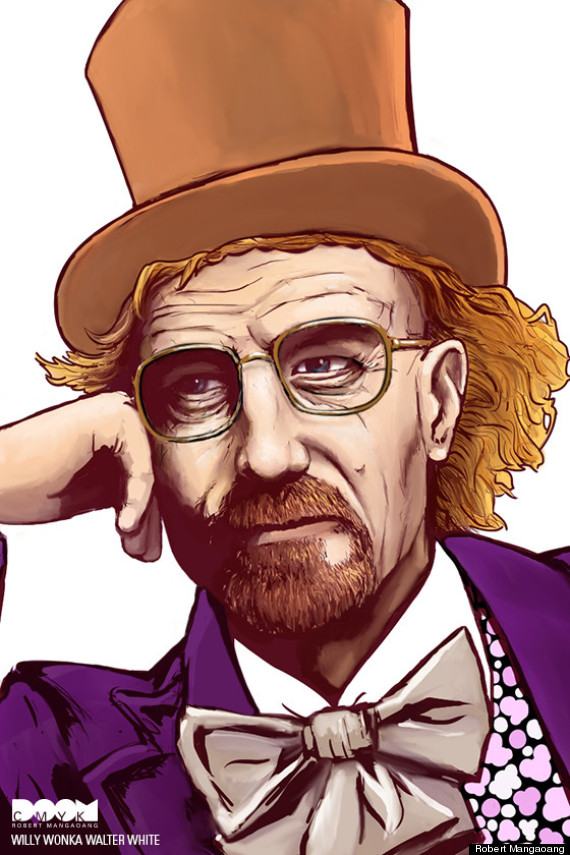 breaking bad willy wonka