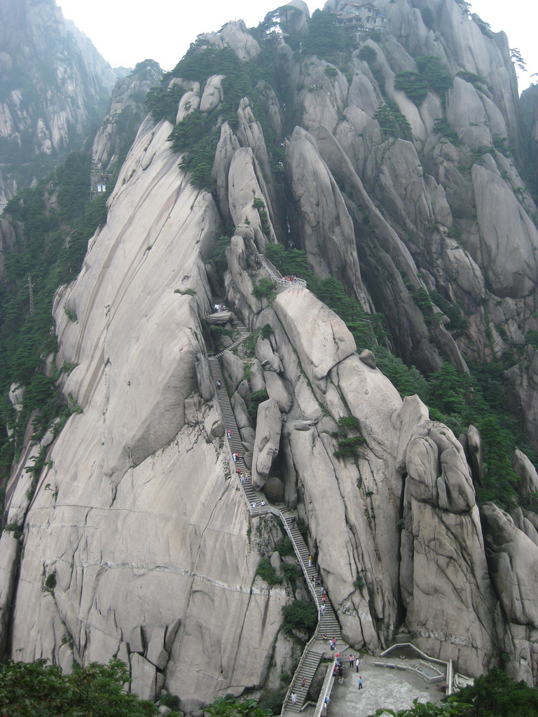 huangshan stairs