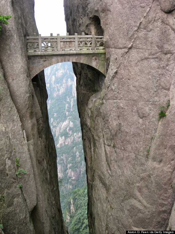 China S Huangshan Mountain Has The Craziest Steps Ever