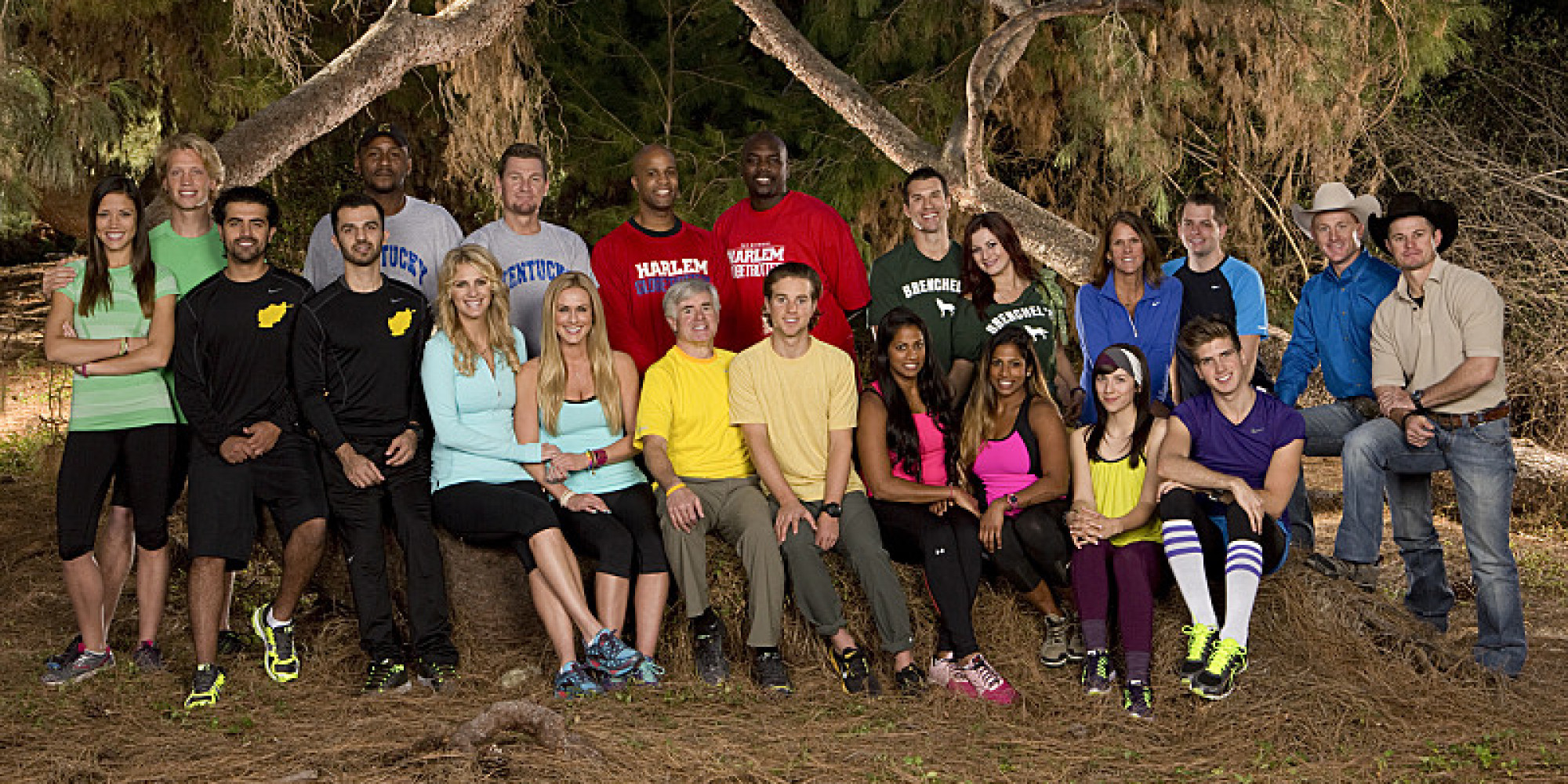 Amazing All White Rooms: 'The Amazing Race' All-Stars Cast: Meet The 11 Teams Of