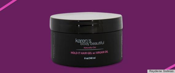 karens body beautiful hair gel
