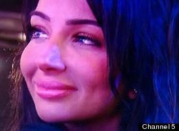 Tulisa's Face Causes A Stir At 'CBB' Final