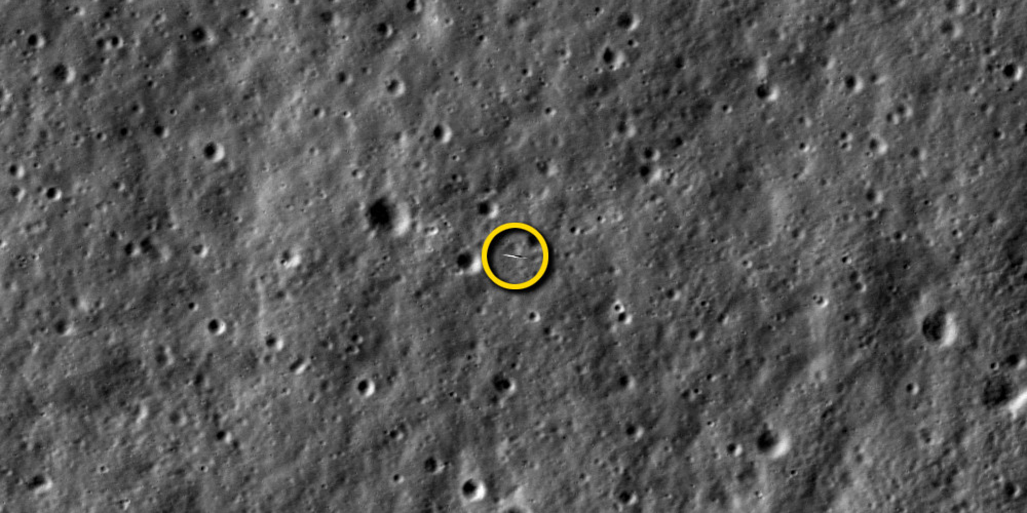 Rover On Moon From Satelitte Pics About Space