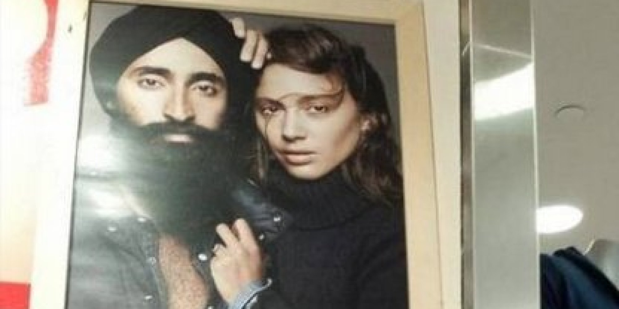 We Can't Stop Smiling At This Version Of The Sikh Gap Subway Ad