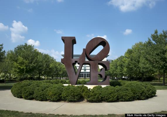 love sculpture indianapolis