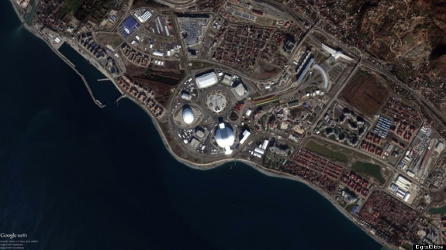 sochi from space