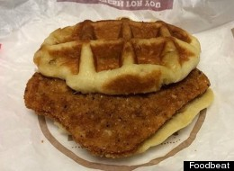Burger King Tests New Chicken Waffle Sandwich