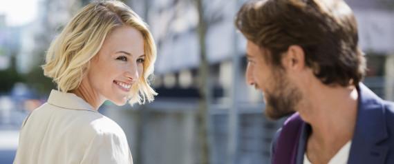 Flirten provozieren