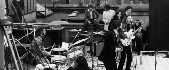 BEATLES ROOFTOP