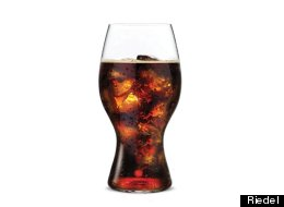 The Fanciest Coca-Cola Glass We Have Ever Seen