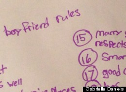 30 Rules For Boyfriends From Two Confident Little Girls