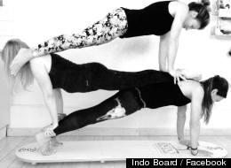 We Tried It: Indo Yoga Board