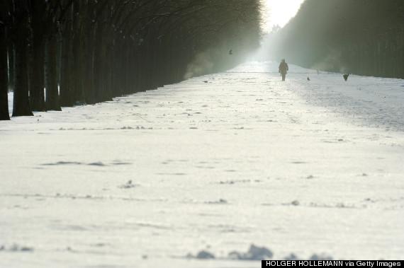 europe snow
