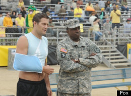 Why Geoff Stults Signed Up For 'Enlisted'