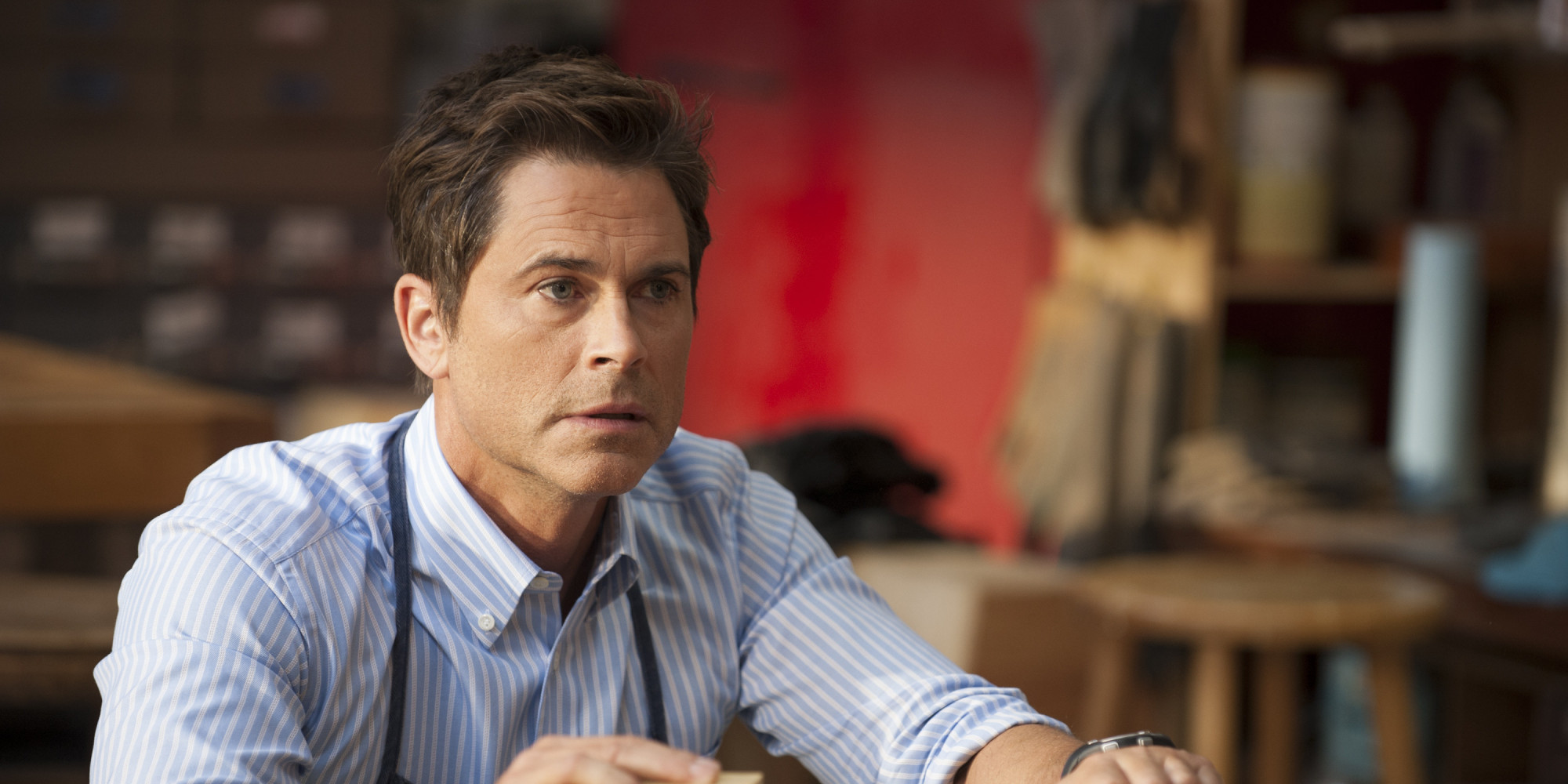 How Does Rob Lowe Leav...