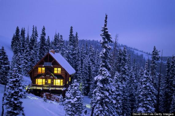 ski lodge lighting