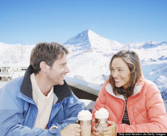 ski lodge hot cocoa