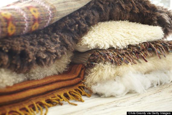 fur throw