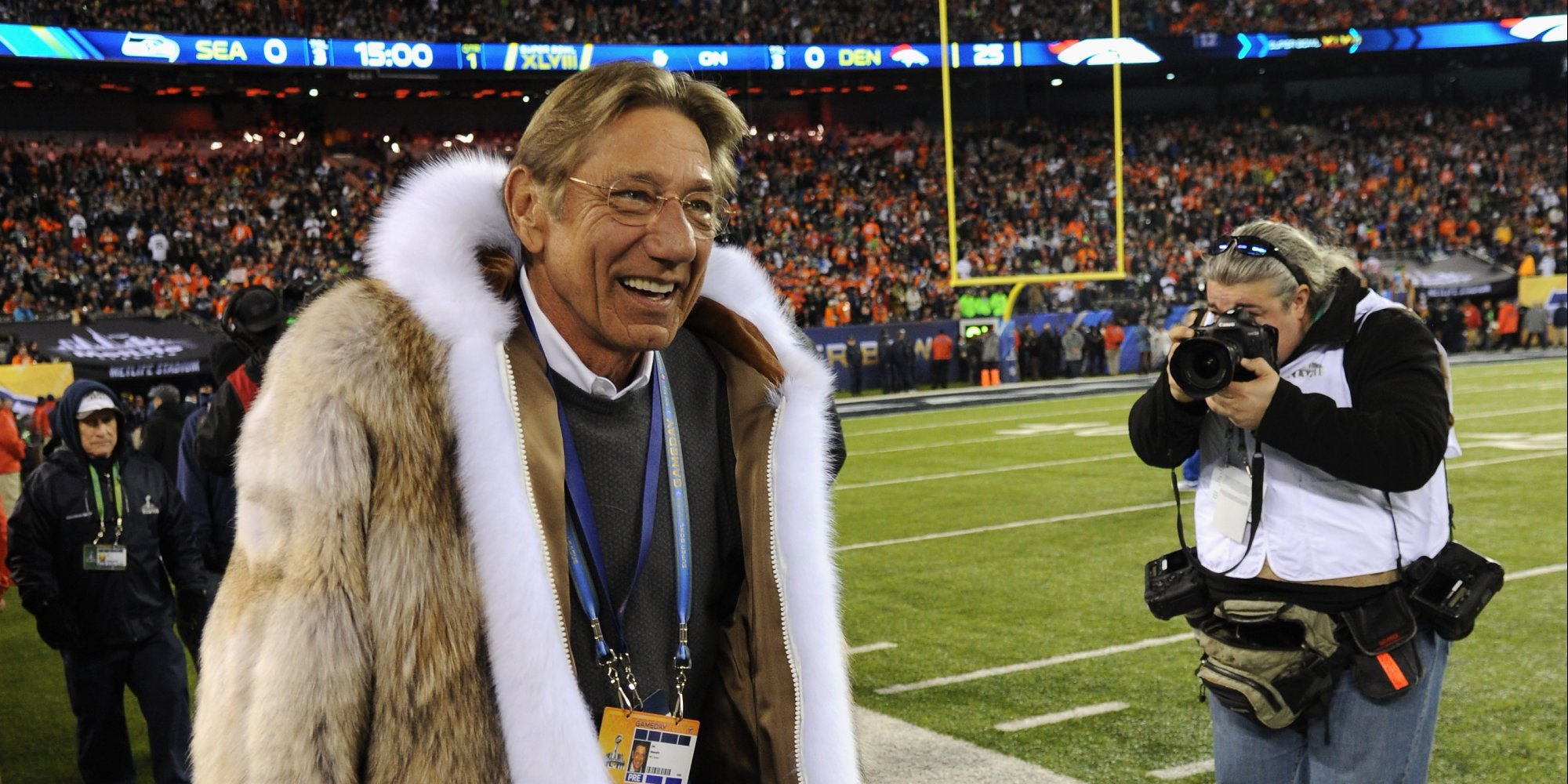 Joe Namath Wore A Fur Coat And Messed Up The Coin Toss In His ...