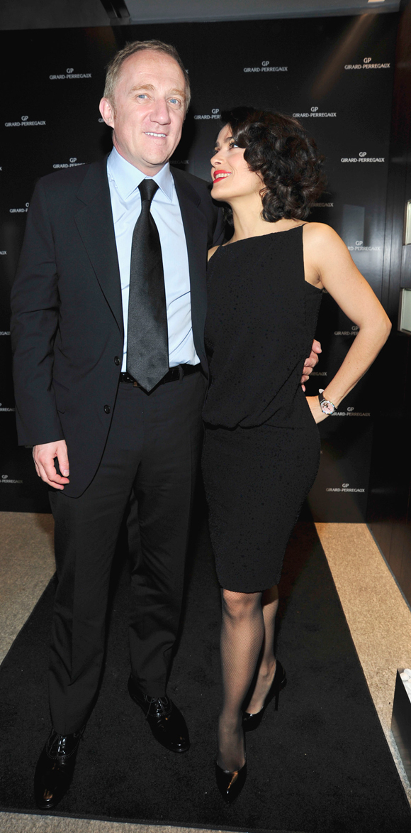 salma hayek husband. It#39;s Salma Hayek#39;s billionaire