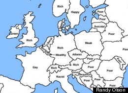 European Countries, According To Google Autocomplete