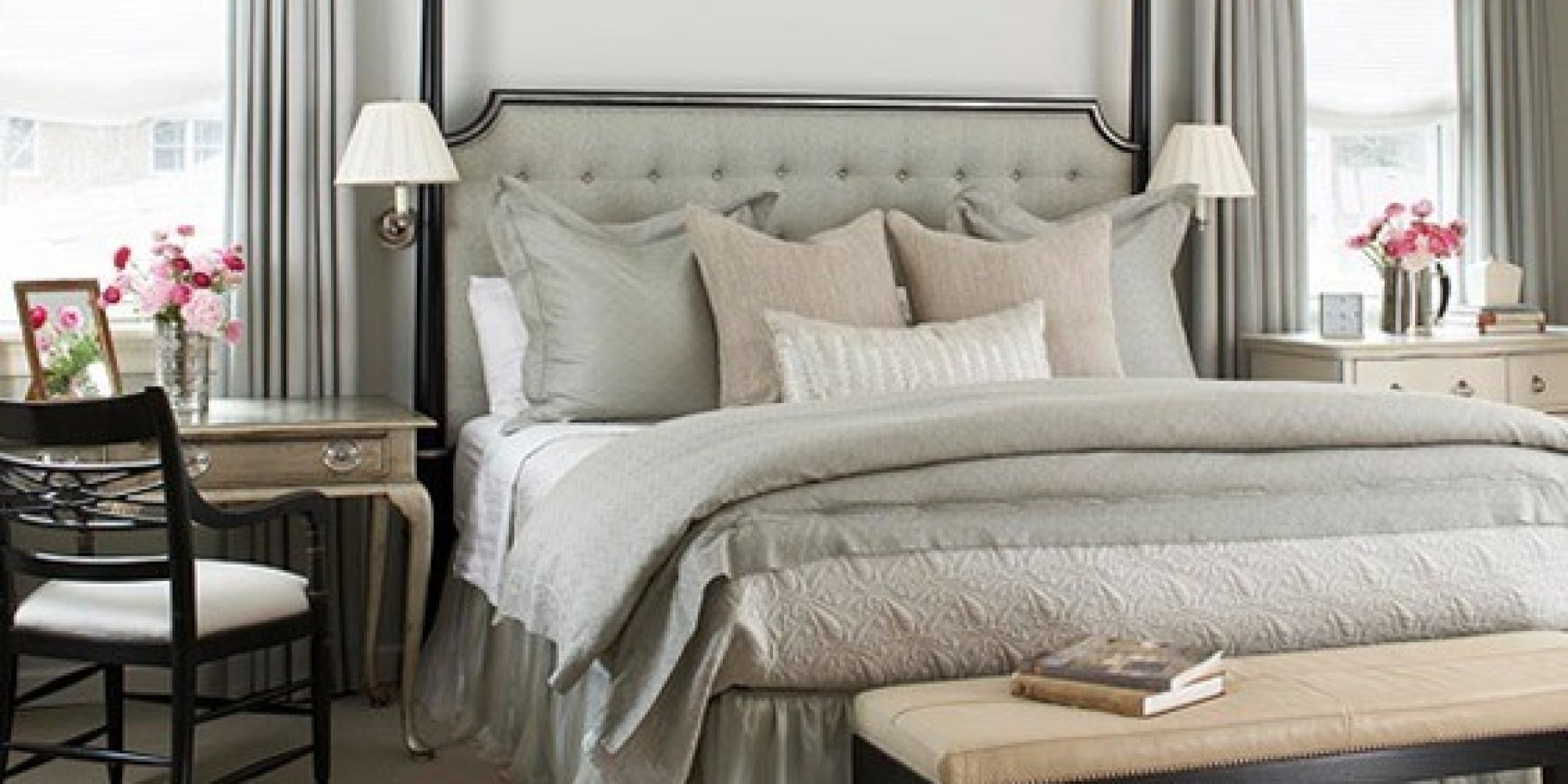 How To Mismatch Nightstands Photos Huffpost