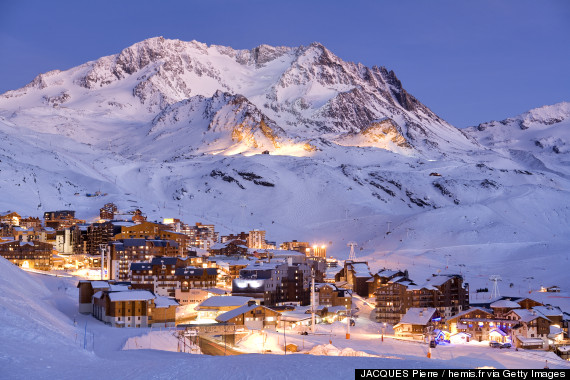 Alpine Skiing Resorts Tourism In The Alpes De Haute Provence France