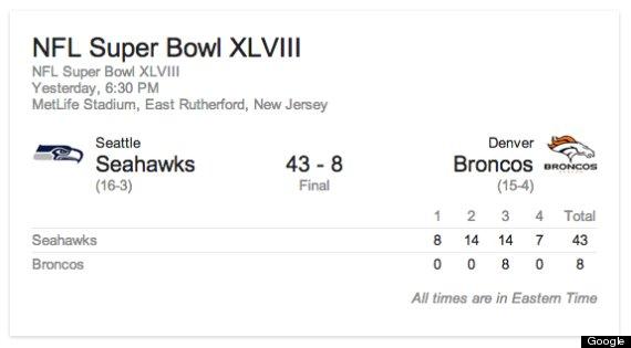 google game score