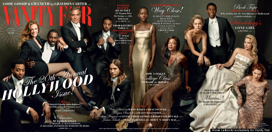 vanity fair hollywood 2014