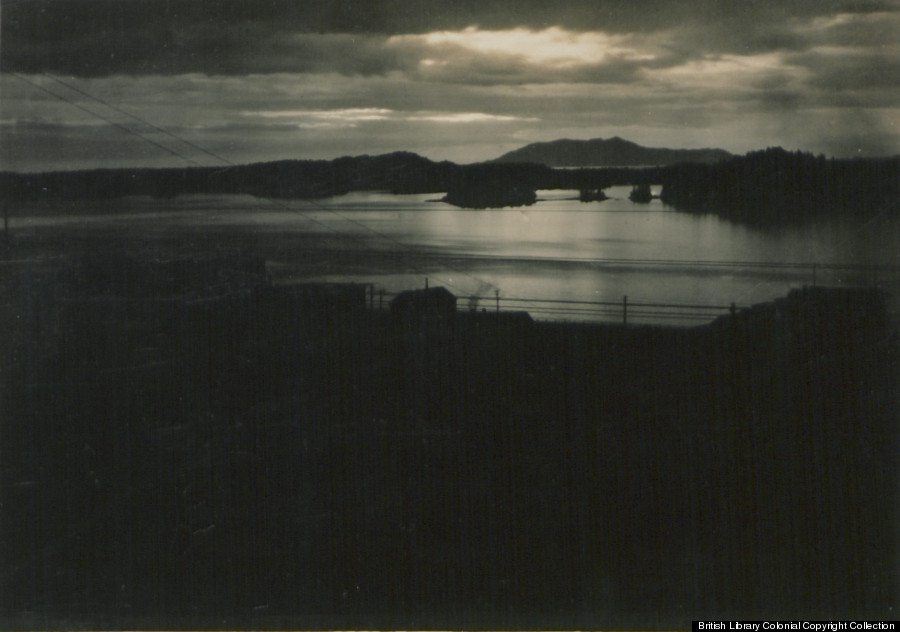prince rupert island sunset