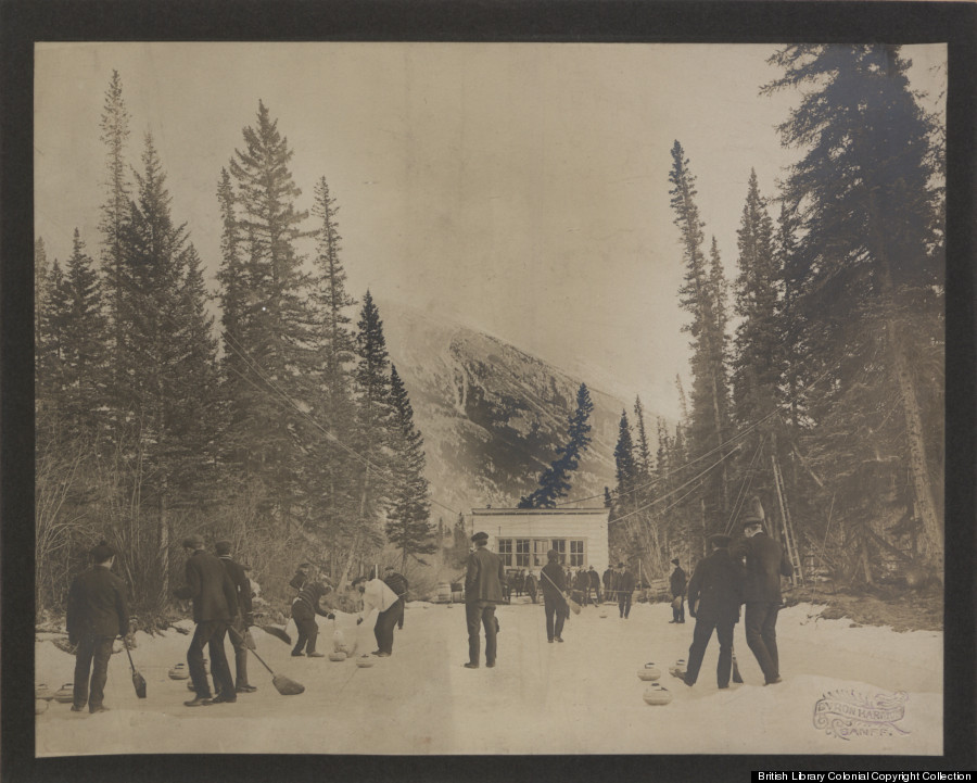 curling at banff