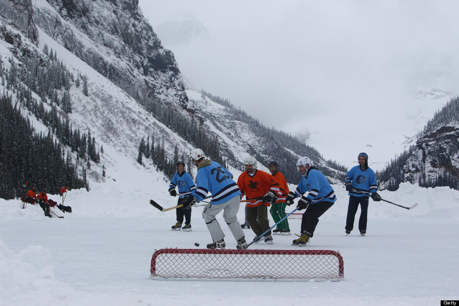 bannf outdoor hockey classic