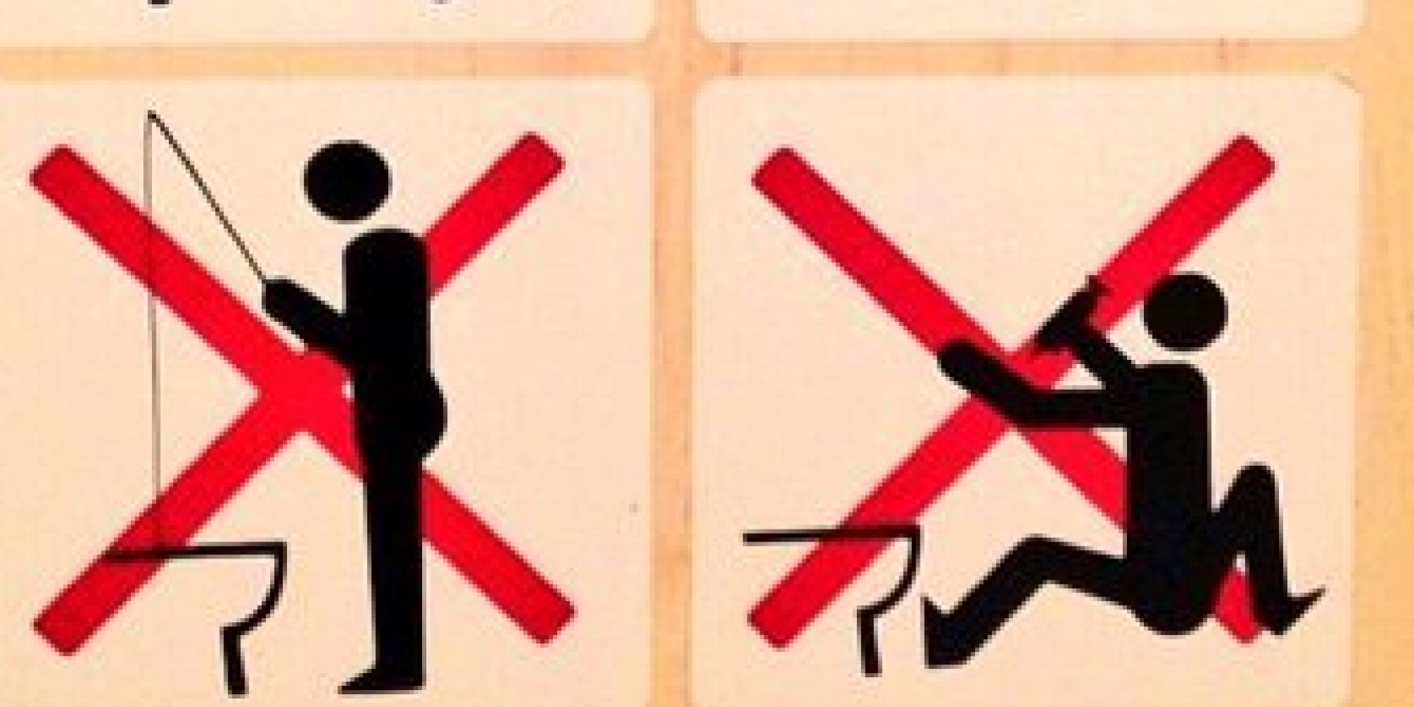 Bathroom Signs South Africa sochi bathroom signs forbid fishing, upper deckers in olympic