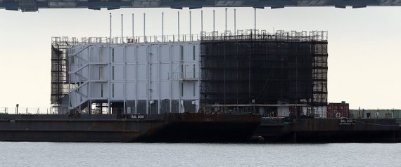 google barge ordered to move
