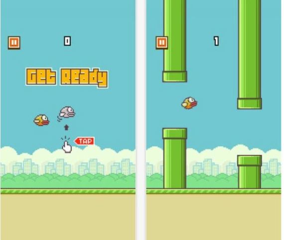 flappy bird appli