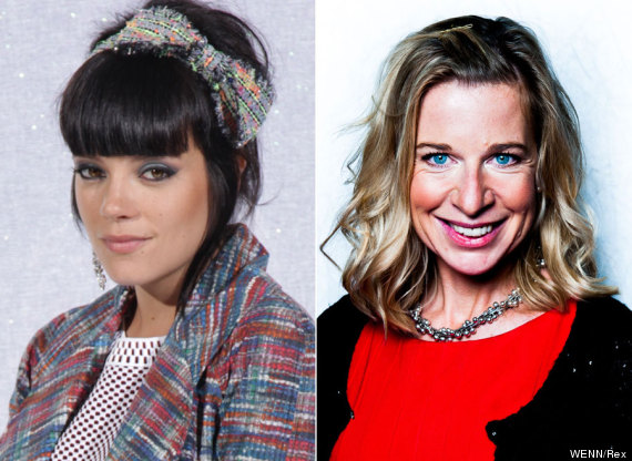lily allen katie hopkins