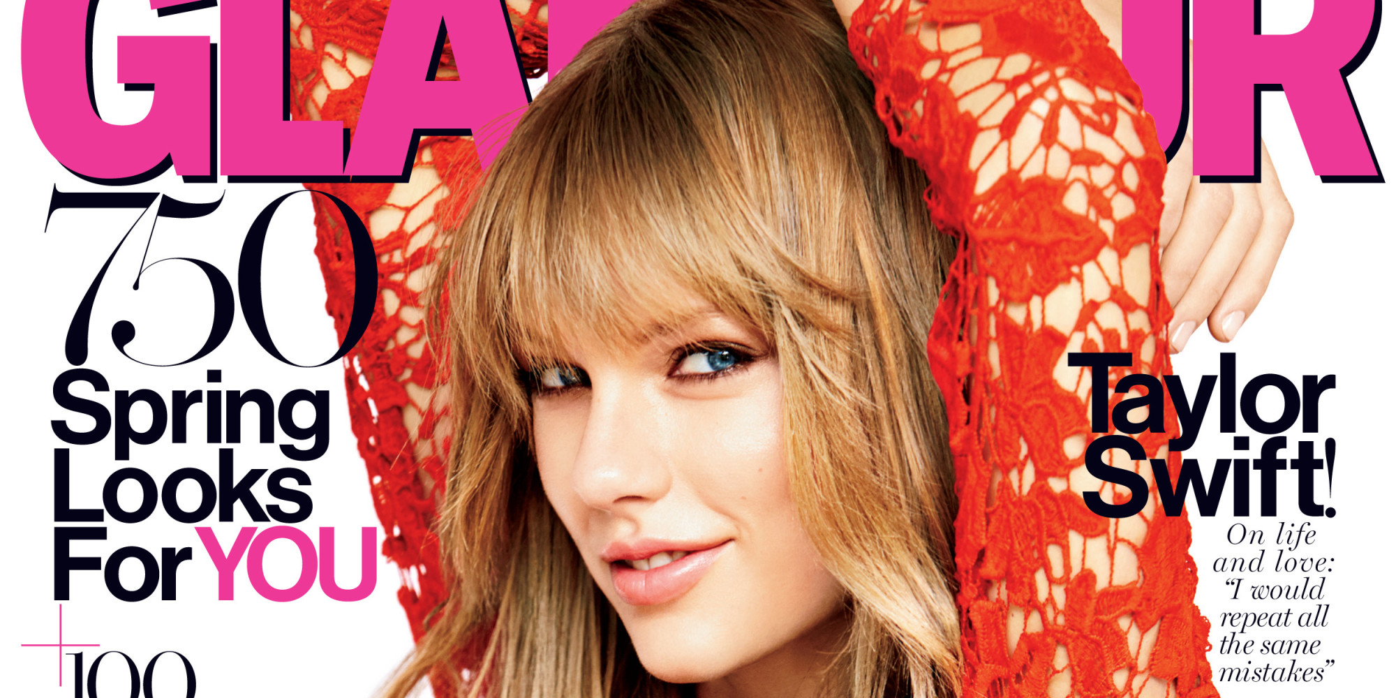 Taylor Swift Looks GORGEOUS On Her Glamour Cover Because Duh