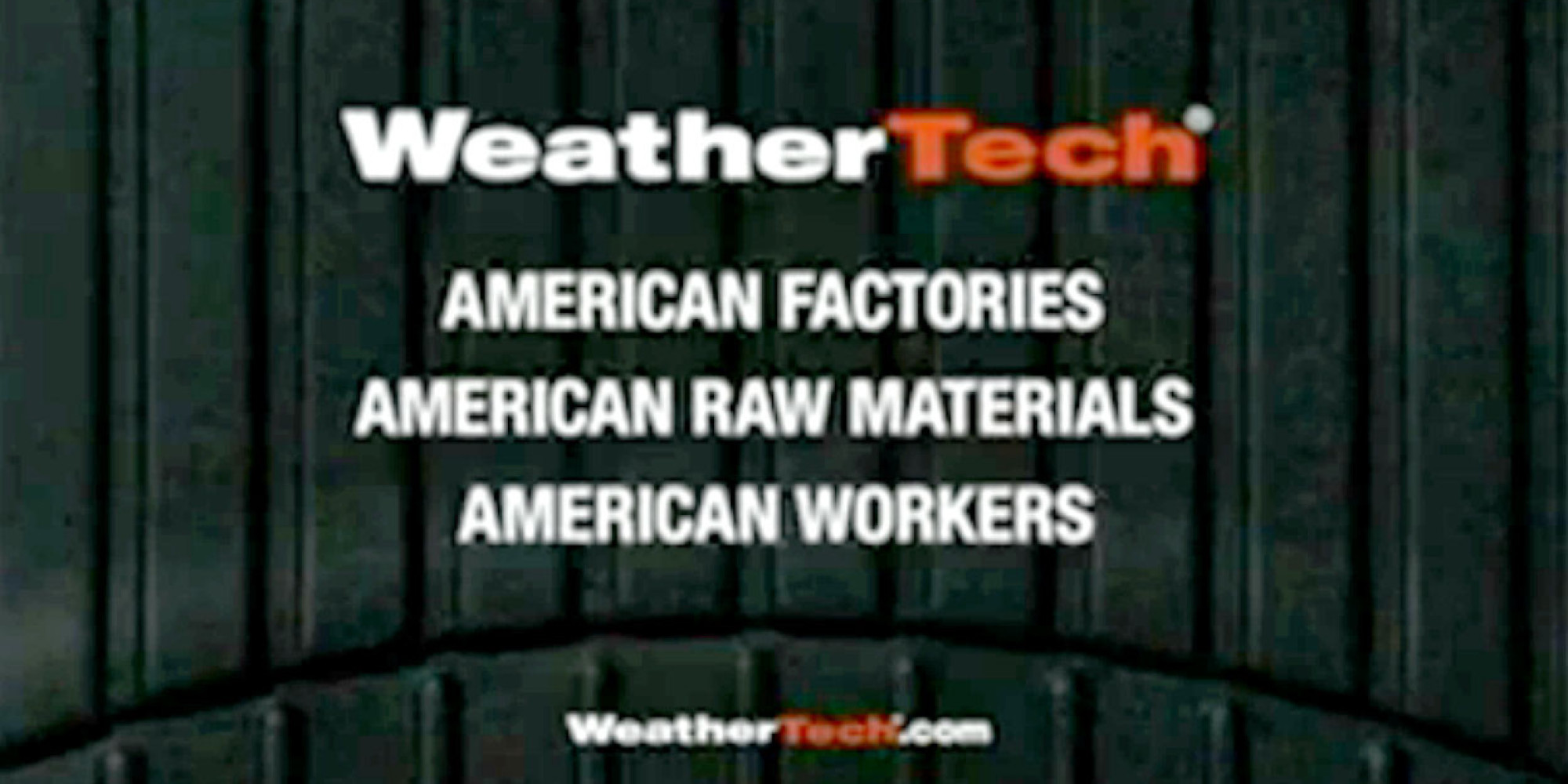 weathertech made an all american super bowl commercial