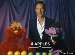 WATCH: Benedict Cumberbatch On 'Sesame Street'. OH YES.