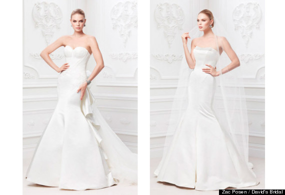 0f4ba2da37e Posen said that he envisions the Truly Zac Posen bride-to-be as