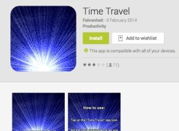 time travel app lives cash restrictions