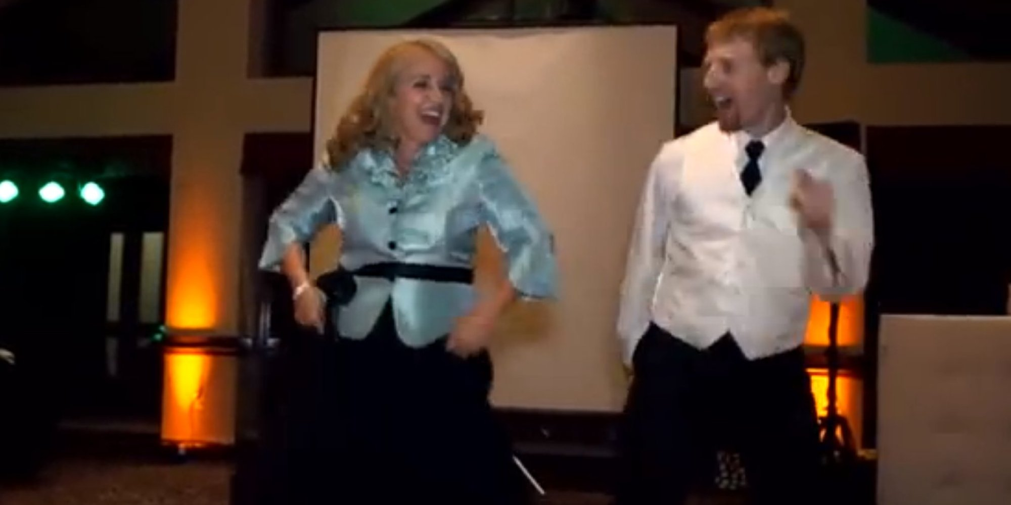 This Mother And Son's Wedding Dance Medley Is Epic (VIDEO