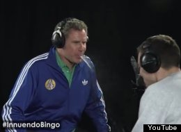 WATCH: Will Ferrell Shoots His Load Playing 'Innuendo Bingo'