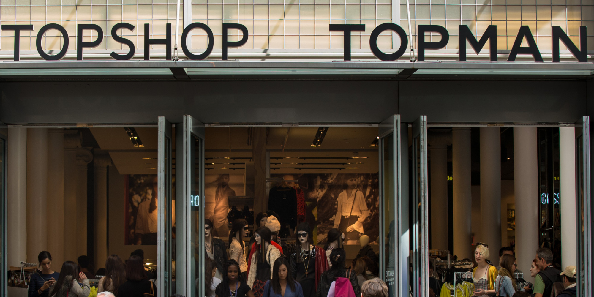 Topshop to open huge store on new york city 39 s fifth avenue for Store fenetre new york