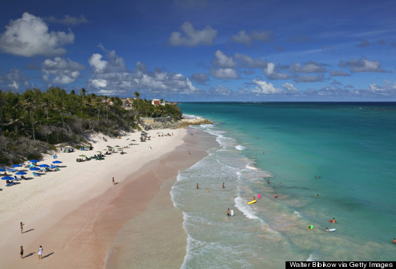 crane beach barbados  The 11 Best Caribbean Beaches o CRANE BEACH BARBADOS 570