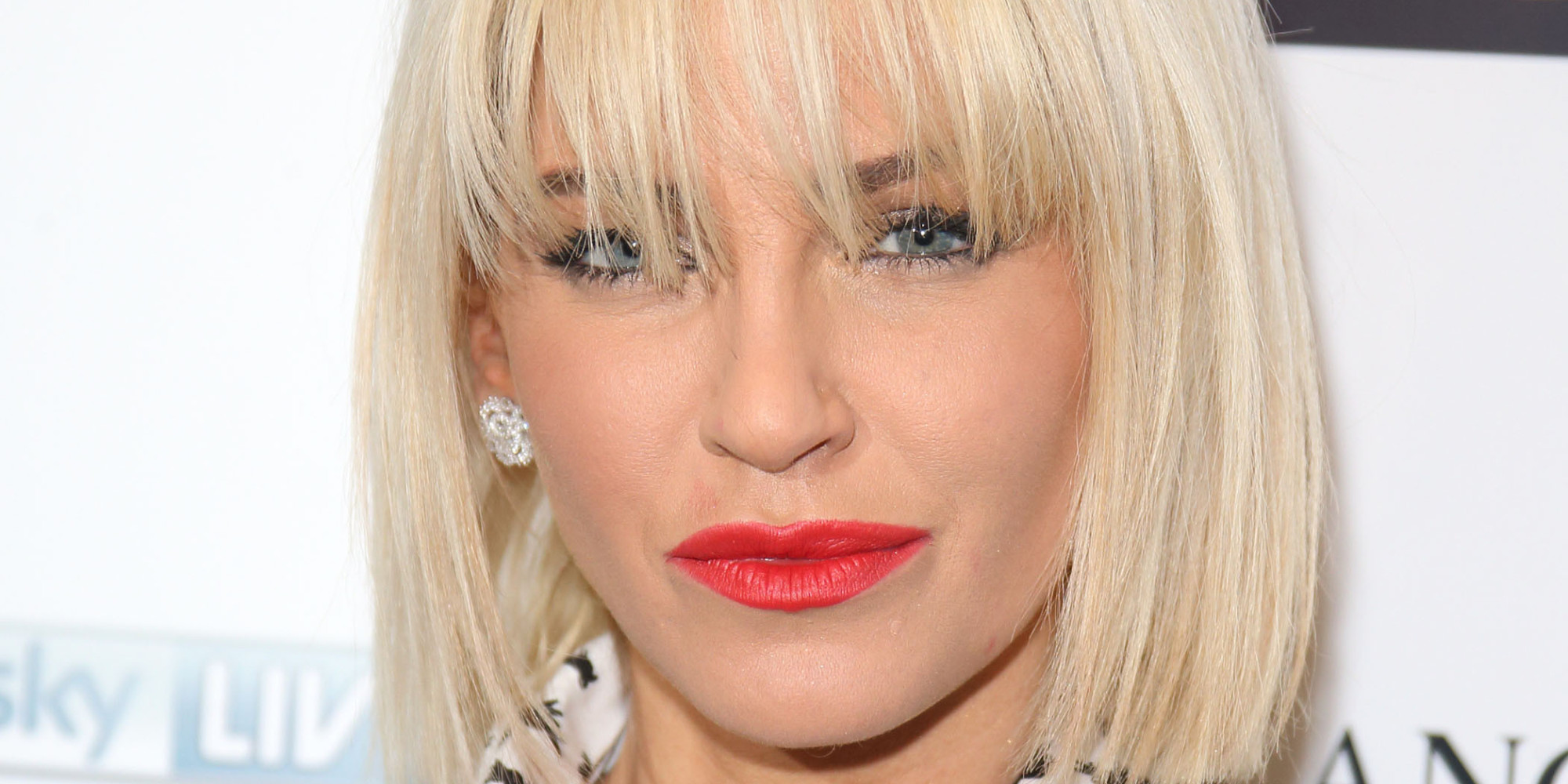 Sarah Harding Debuts New Bleached Bob Hairstyle (PICTURES)