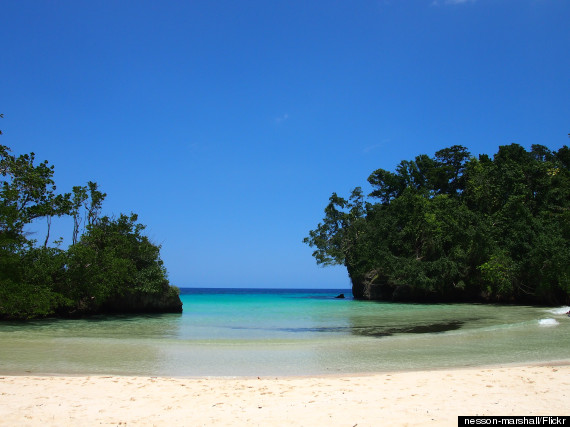 frenchmans cove jamaica  The 11 Best Caribbean Beaches o FRENCHMANS COVE JAMAICA 570