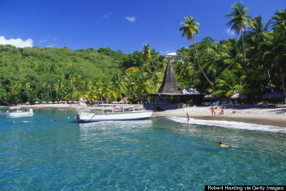 anse chastanet st lucia  The 11 Best Caribbean Beaches o ANSE CHASTANET ST LUCIA 570