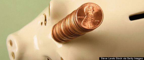 penny piggy bank